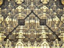 Het abstracte 3D teruggeven als achtergrond Stock Fotografie