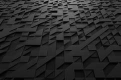 Het abstracte 3d teruggeven van futuristische oppervlakte met Stock Foto's