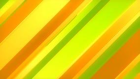Het abstracte 3d teruggeven van gekleurde geometrische vormen Computer geproduceerde lijnanimatie Geometrisch patroon 4k UHD vector illustratie