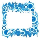 Het abstracte frame. Stock Foto