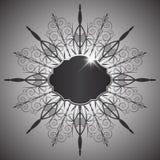 Het abstracte Frame van het Metaal Royalty-vrije Stock Afbeelding