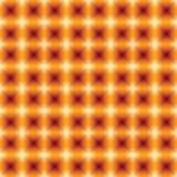 Het abstracte geometrische naadloze patroon als achtergrond met blured squar Stock Foto