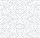 Het abstracte geometrische subtiele patroon van de het hoofdkussenster van de decokunst Royalty-vrije Stock Afbeeldingen