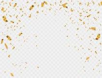 Het abstracte goud van de achtergrondpartijviering Stock Foto