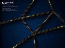 Het abstracte grafische ontwerp van het luxepatroon van gradiënt zwarte achtergrond royalty-vrije illustratie