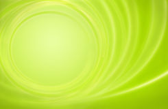 Het abstracte groene onweer van de achtergrondmachtsenergie circl Stock Afbeeldingen