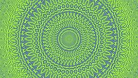 Het abstracte groene radiale veranderen als achtergrond stock illustratie
