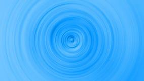 Het abstracte hypnotic blauw vertroebelde cirkel snelle film stock illustratie