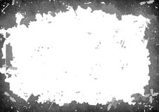 Het abstracte Kader van Hoge Resolutie Gedetailleerde Grunge vector illustratie