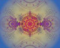 Het abstracte kleurenfractal beeld. Royalty-vrije Stock Afbeeldingen