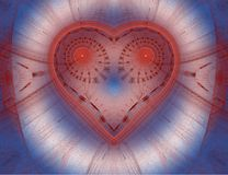 Het abstracte kleurenfractal beeld. Stock Afbeeldingen