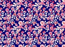 Het abstracte kleurrijke patroon van de blokdruk stock illustratie