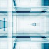 Het abstracte kubussen 3D teruggeven Royalty-vrije Stock Fotografie