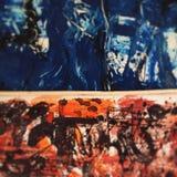 Het abstracte kunst schilderen Royalty-vrije Stock Foto
