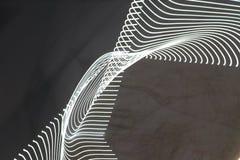 Het abstracte langzame blind steekt close-up aan royalty-vrije stock fotografie