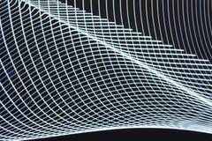 Het abstracte langzame blind steekt close-up aan royalty-vrije stock foto