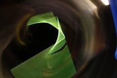 Het abstracte langzame blind steekt close-up aan royalty-vrije stock foto's