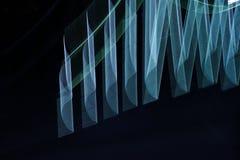 Het abstracte langzame blind steekt close-up aan stock foto's