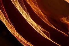 Het abstracte langzame blind steekt close-up aan royalty-vrije stock afbeelding