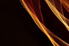 Het abstracte langzame blind steekt close-up aan stock foto