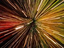 Het abstracte licht sleept bokeh royalty-vrije stock fotografie