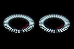 Het abstracte licht van DJ Stock Foto