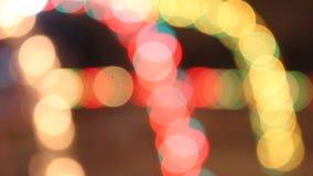 Het abstracte lichten opvlammen stock footage