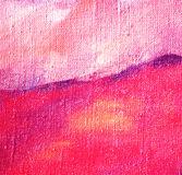 Het abstracte lilac schilderen door olie op canvas Stock Afbeeldingen