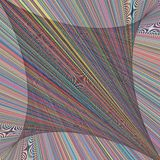Het abstracte Malplaatje van Fade Grid Stripe Luxury Background van het Regenboogspectrum Kleurrijke stock illustratie