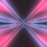 Het abstracte moderne futuristische draad 3d teruggeven als achtergrond Stock Foto