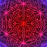 Het abstracte moderne rode het gloeien draad 3d teruggeven als achtergrond Stock Afbeeldingen