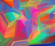 Het abstracte Moderne Schilderen van de Kunst Stock Fotografie
