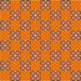 Het abstracte motief van de batikdecoratie Stock Foto's