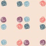 Het abstracte naadloze patroon van Cirkels Royalty-vrije Stock Foto's
