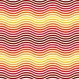Het abstracte Naadloze Patroon van de Golf Royalty-vrije Stock Fotografie