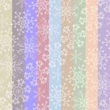 Het abstracte naadloze patroon van de Kerstmis gestreepte pastelkleur Stock Afbeeldingen