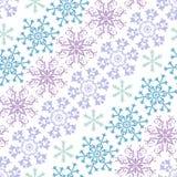 Het abstracte naadloze patroon van de Kerstmispastelkleur Royalty-vrije Stock Foto's
