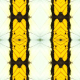 het abstracte naadloze patroon van de vlindervleugel Stock Afbeeldingen