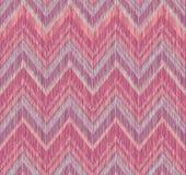 Het abstracte naadloze patroon van de zigzaglijn Stof doodleÑ ‹ Stock Afbeelding