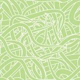Het abstracte Naadloze Patroon van het Behang stock illustratie