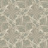 Het abstracte Naadloze Patroon van het Behang Royalty-vrije Stock Afbeelding