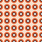 Het abstracte naadloze vectorpatroon van regenboogventilators stock illustratie