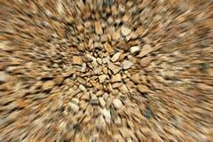 Het abstracte onduidelijke beeld van stenen Stock Foto's