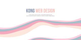Het abstracte ontwerp van de achtergrondkopbalwebsite Stock Foto's