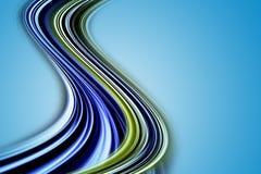 Het abstracte ontwerp van de ecogolf Royalty-vrije Stock Fotografie