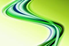 Het abstracte ontwerp van de ecogolf Stock Fotografie