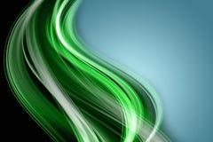 Het abstracte ontwerp van de ecogolf Royalty-vrije Stock Afbeeldingen