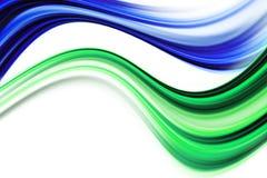 Het abstracte ontwerp van de ecogolf Stock Foto's
