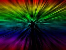 Het abstracte ontwerp van de kleur. Stock Foto