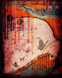 Het abstracte ontwerp van Grunge stock illustratie